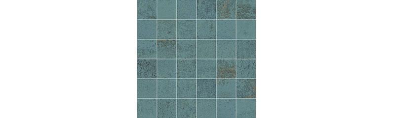 Aparici Metallic Green Natural Mosaico 29,75x29,75