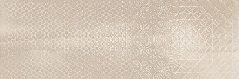 Arcana Aquarelle Murale Beige 25x75
