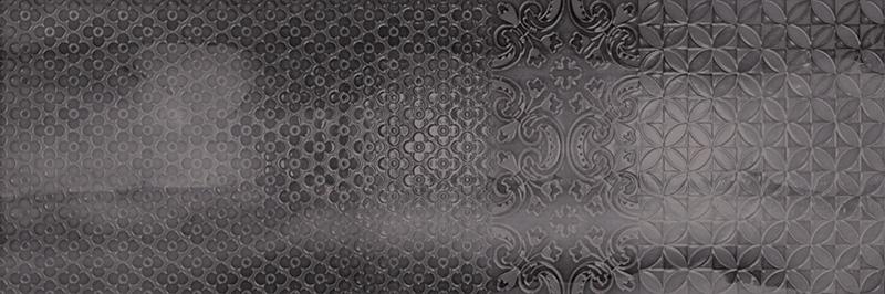Arcana Aquarelle Murale Nero 25x75