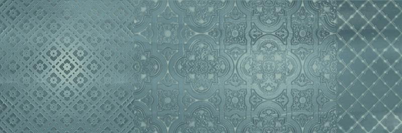 Arcana Aquarelle Murale Turquesa 25x75