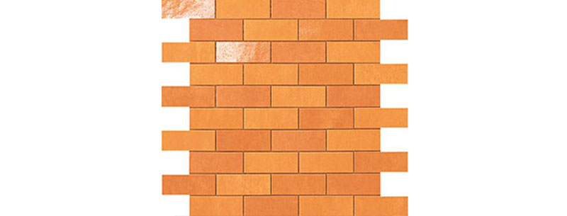 Atlas Concorde Ewall MiniBrick Orange 30,5x30,5