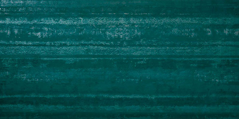 Atlas Concorde Ewall Stripes Petroleum Green 40x80