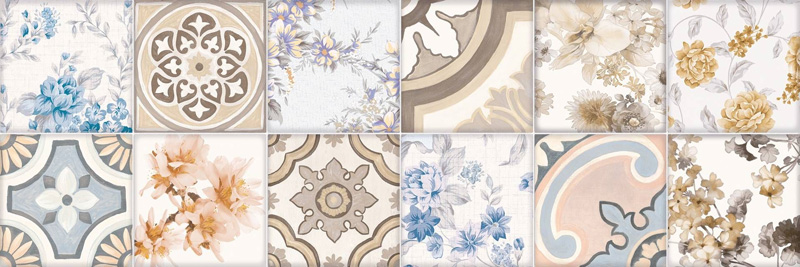 Cifre Cromatica Decor Adriana Warm 25x75