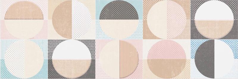 Cifre Cromatica Decor Circles Cold 25x75