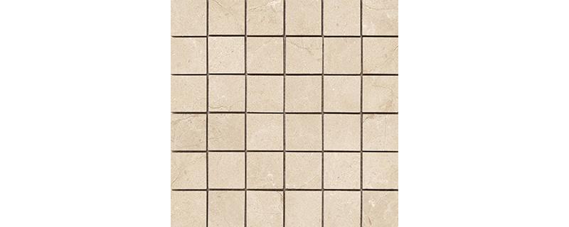 Cifre Luxe Mosaico Ivory Brillo 30x30