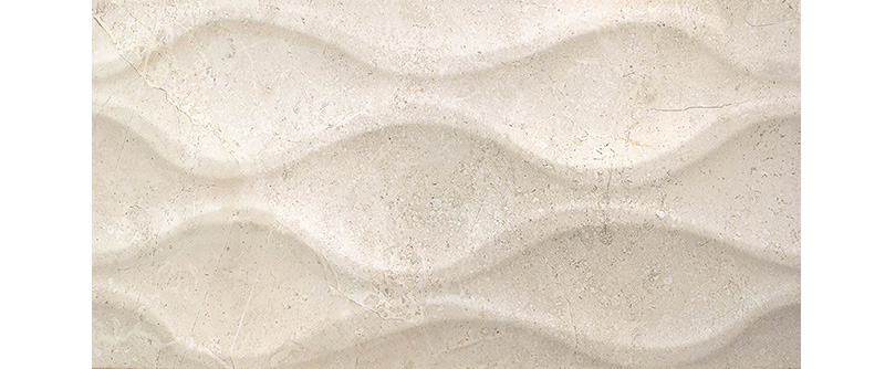 Cifre Luxe Relieve Ivory 25x60