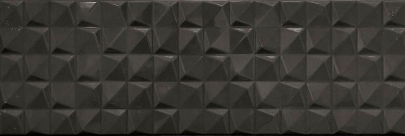 Cifre Manila Pyramidal Black Brillo 20x60