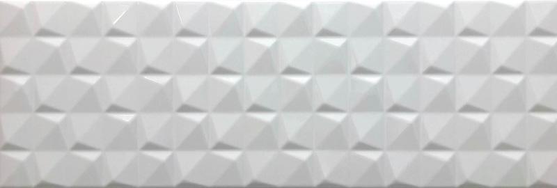 Cifre Manila Pyramidal White Brillo 20x60