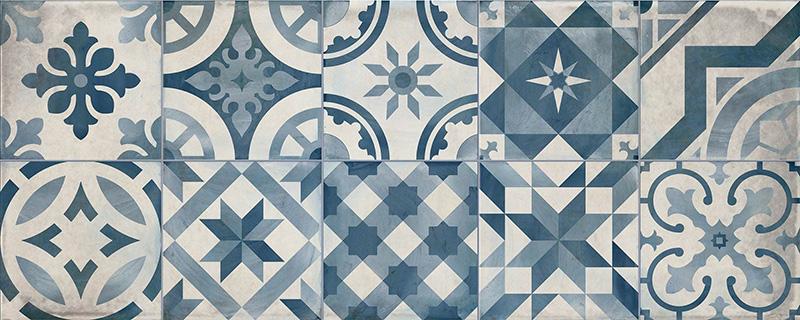 Cifre Montblanc Decor Blue 20x50