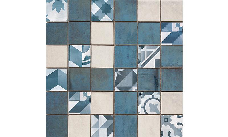 Cifre Montblanc Mosaico Blue 30x30