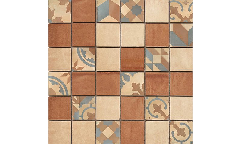 Cifre Montblanc Mosaico Brown 30x30