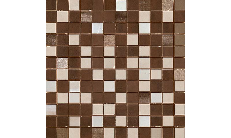 Cifre Oxigeno Mosaico Brown 30x30