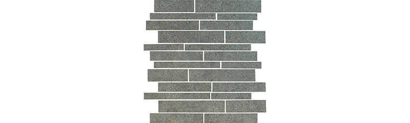 Durstone Clunia Mosaico Muro Antracita 30x30