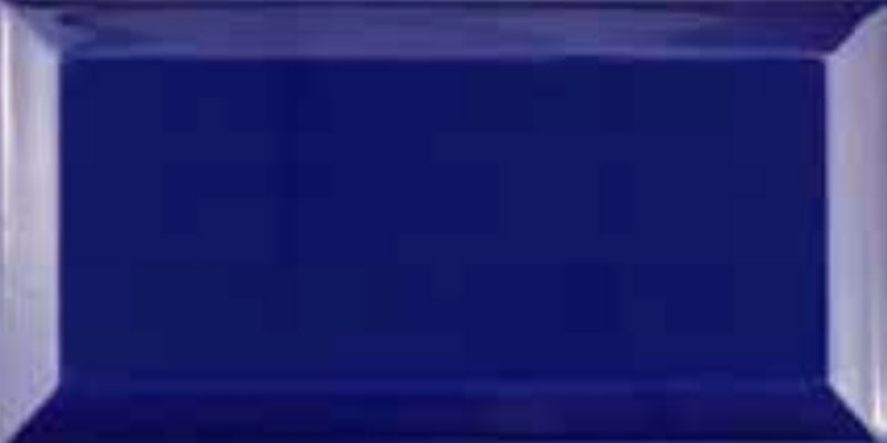 Fabresa Bevelled Biselado Azul Cobalto 10x20