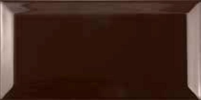 Fabresa Bevelled Biselado Chocolate 10x20