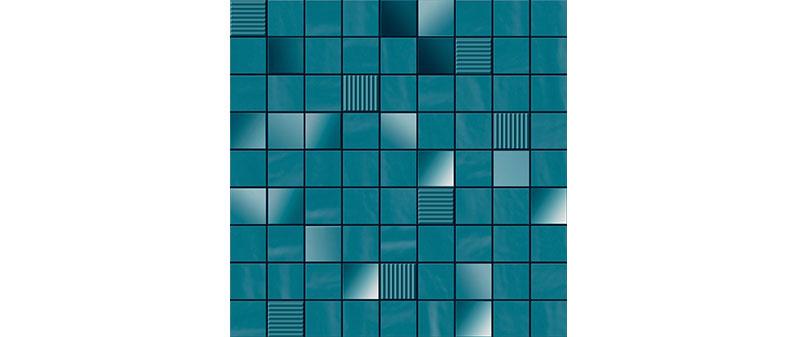 Ibero Mosaico Perlage Turquoise 31,6x31,6