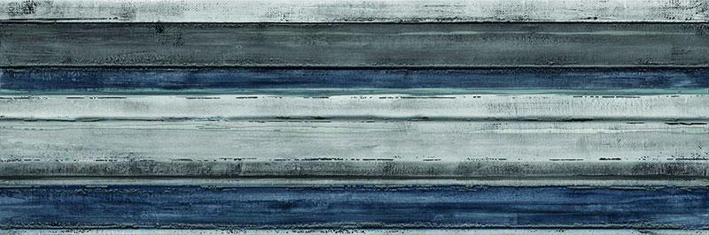 Marazzi Colorplay Blue Decoro Brush 30x90