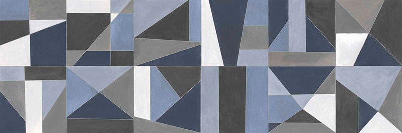 Marazzi Colorplay Blue Decoro Tiles 30x90
