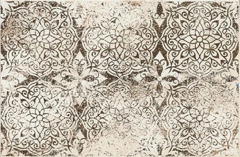 Marazzi Neutral Decoro Lace Sand 25x38