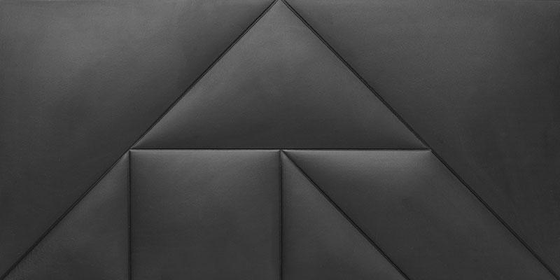 Mopa Artdeco Fekete Matt A 80x40