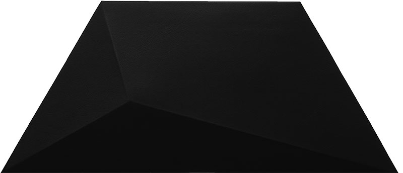 Mopa Geom Fekete Matt 34,8x15