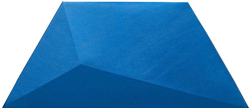 Mopa Geom Kék Satin 34,8x15