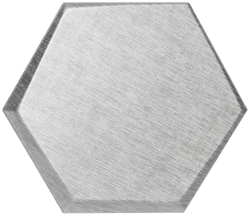 Mopa Hexa Ezüst Glitter 20x23,2