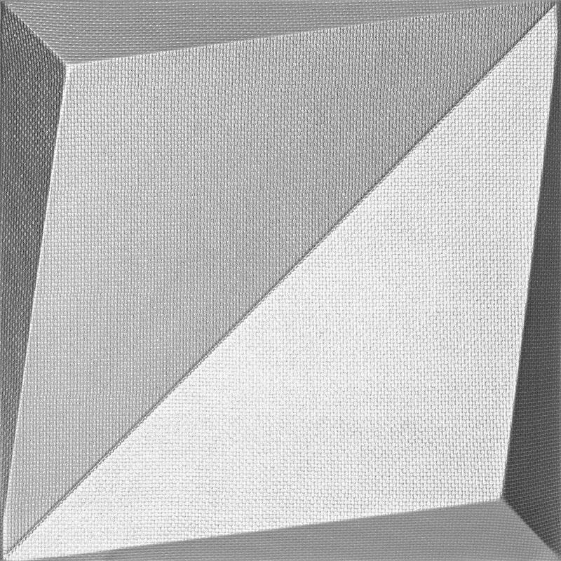 Mopa LV Ezüst Szövet 33,3x33,3