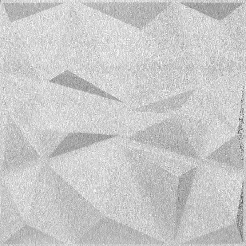 Mopa Prizma Ezüst Szálcsiszolt 60x60