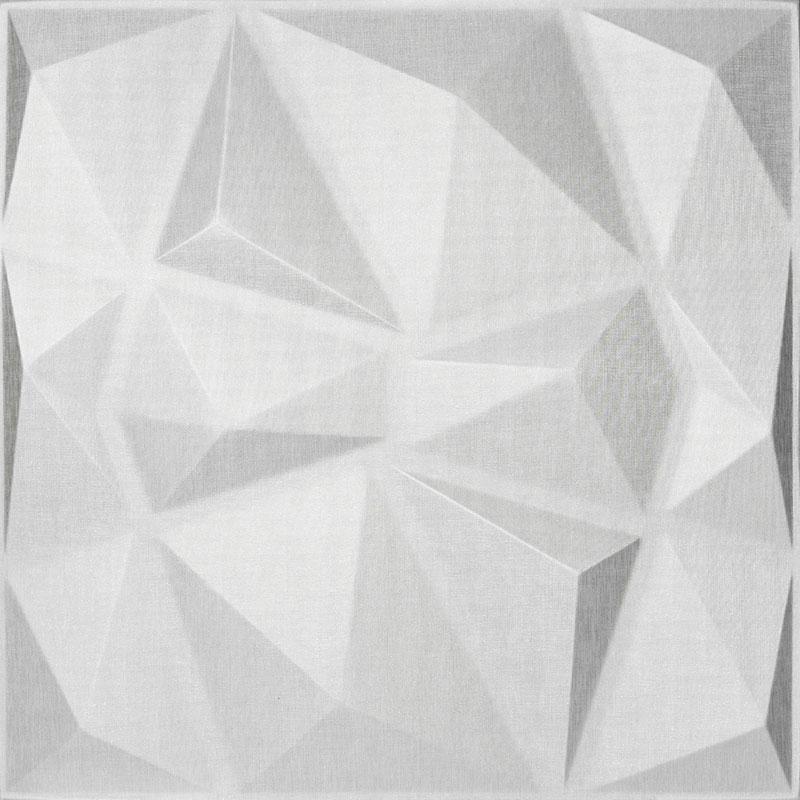 Mopa Prizma Fehér Glitter 60x60
