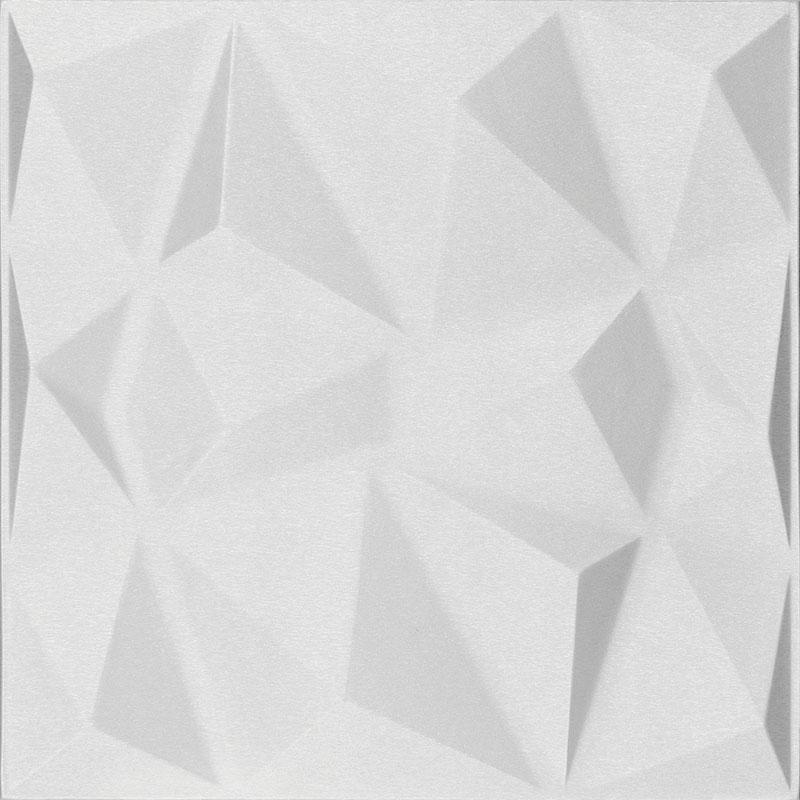 Mopa Prizma Fehér Szálcsiszolt 60x60