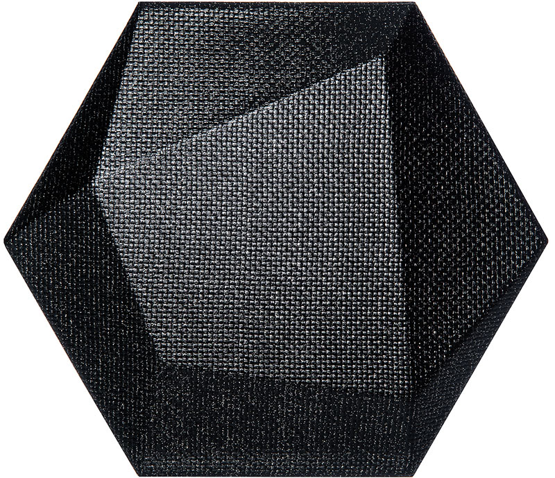Mopa Rock Fekete Szövet 20x23,2