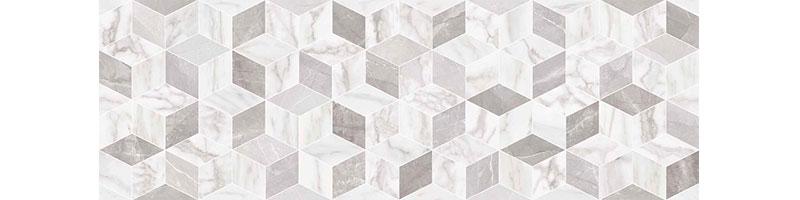 Ragno Imperiale Tangram Bianco 30x90